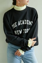 【ガリャルダガランテ/GALLARDAGALANTE】の【The Academy New York】Crew Neck Sweatshirt ブラック|ID: prp329100001887159 ipo3291000000010943900