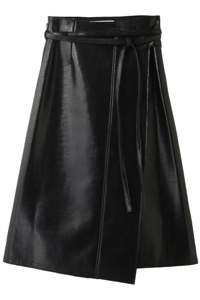 【ルシェル ブルー/LE CIEL BLEU】のクロコフェイクレザースカート インテリア・キッズ・メンズ・レディースファッション・服の通販 founy(ファニー) https://founy.com/ ファッション Fashion レディースファッション WOMEN スカート Skirt 2020年 2020 2020-2021秋冬・A/W AW・Autumn/Winter・FW・Fall-Winter/2020-2021 2021年 2021 2021-2022秋冬・A/W AW・Autumn/Winter・FW・Fall-Winter・2021-2022 A/W・秋冬 AW・Autumn/Winter・FW・Fall-Winter クロコ フェイクレザー ラップ リボン  ID: prp329100001906494 ipo3291000000011018453