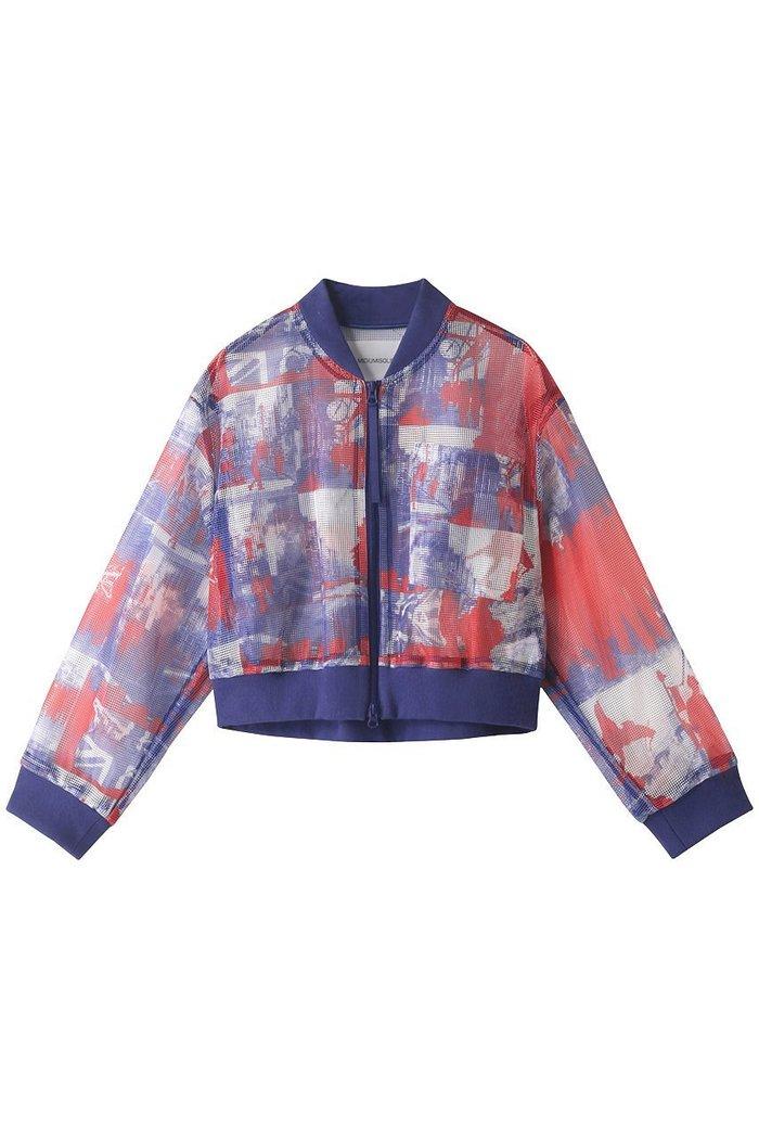 【ミディウミソリッド/MIDIUMISOLID】のLONDON pt mesh blouson/ブルゾン インテリア・キッズ・メンズ・レディースファッション・服の通販 founy(ファニー) https://founy.com/ ファッション Fashion レディースファッション WOMEN アウター Coat Outerwear ジャケット Jackets ブルゾン Blouson/Jackets S/S・春夏 SS・Spring/Summer シアー ジャケット トレンド ブルゾン メッシュ ロンドン 夏 Summer 春 Spring |ID: prp329100001908675 ipo3291000000011054574