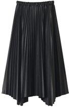【サクラ/SACRA】のシンセティックレザースカート ブラック|ID: prp329100001908701 ipo3291000000011054648