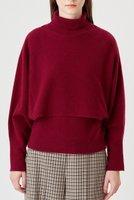 【アナイ/ANAYI】の紡毛アンサンブルプルオーバー 人気、トレンドファッション・服の通販 founy(ファニー) ファッション Fashion レディースファッション WOMEN トップス・カットソー Tops/Tshirt ニット Knit Tops アンサンブル Knit Ensemble プルオーバー Pullover 2020年 2020 2020-2021秋冬・A/W AW・Autumn/Winter・FW・Fall-Winter/2020-2021 2021年 2021 2021-2022秋冬・A/W AW・Autumn/Winter・FW・Fall-Winter・2021-2022 A/W・秋冬 AW・Autumn/Winter・FW・Fall-Winter おすすめ Recommend アンサンブル インナー カーディガン スヌード トレンド ハイネック パープル ホールガーメント ボトム |ID:prp329100001912265