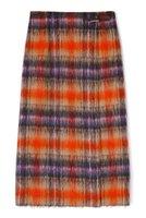 【アナイ/ANAYI】のモヘヤシャギーチェックタイト スカート 人気、トレンドファッション・服の通販 founy(ファニー) ファッション Fashion レディースファッション WOMEN スカート Skirt ロングスカート Long Skirt 2020年 2020 2020-2021秋冬・A/W AW・Autumn/Winter・FW・Fall-Winter/2020-2021 2021年 2021 2021-2022秋冬・A/W AW・Autumn/Winter・FW・Fall-Winter・2021-2022 A/W・秋冬 AW・Autumn/Winter・FW・Fall-Winter イタリア スリット センター タイトスカート チェック フロント メタル モヘア ラップ ロング  ID:prp329100001912267