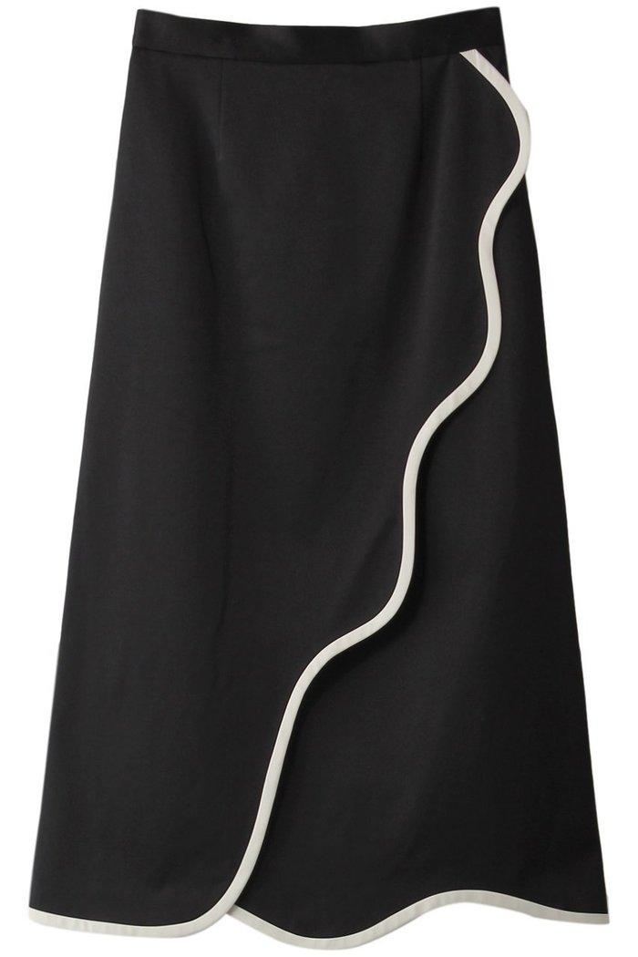 【ルシェル ブルー/LE CIEL BLEU】のオーガニックラインスカート インテリア・キッズ・メンズ・レディースファッション・服の通販 founy(ファニー) https://founy.com/ ファッション Fashion レディースファッション WOMEN スカート Skirt ロングスカート Long Skirt ウェーブ パイピング パーティ フレア ラップ ロング |ID: prp329100001985797 ipo3291000000011902514