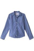【フランク&アイリーン/Frank&Eileen】のBARRY LIMITED EDITION イタリアンコットン フィッシュプリントシャツ 人気、トレンドファッション・服の通販 founy(ファニー) ファッション Fashion レディースファッション WOMEN トップス・カットソー Tops/Tshirt シャツ/ブラウス Shirts/Blouses スリーブ ロング 定番 Standard 無地 |ID:prp329100001999241