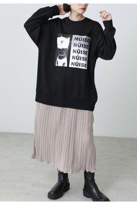 【ローズバッド/ROSE BUD】 グラフィックプリントスウェットレイヤードドレス人気、トレンドファッション・服の通販 founy(ファニー) ファッション Fashion レディースファッション WOMEN ワンピース Dress ドレス Party Dresses チュニック Tunic おすすめ Recommend グラフィック シャイニー スニーカー チュニック フロント プリント プリーツ ロング 人気 冬 Winter |ID:prp329100002006537