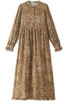 【ウィムガゼット/Whim Gazette】の【GEMINI】LEOプリントワンピース 人気、トレンドファッション・服の通販 founy(ファニー) ファッション Fashion レディースファッション WOMEN ワンピース Dress チュニック Tunic シューズ スリーブ チュニック フリル プリント マキシ ロング |ID:prp329100002013955