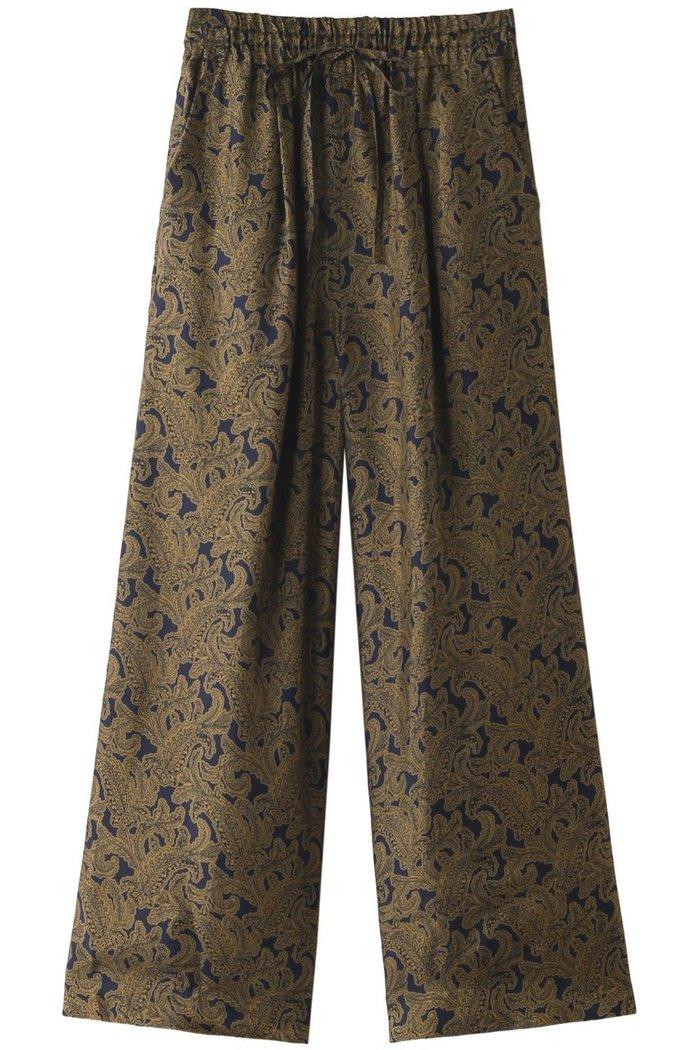 【サクラ/SACRA】のペイズリー柄パンツ インテリア・キッズ・メンズ・レディースファッション・服の通販 founy(ファニー) https://founy.com/ ファッション Fashion レディースファッション WOMEN パンツ Pants オリエンタル プリント ペイズリー モダン リラックス ワイド |ID: prp329100002033100 ipo3291000000012405473