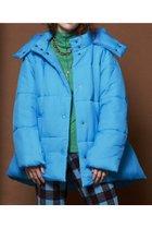 【メゾンスペシャル/MAISON SPECIAL】のカラーフード中綿ブルゾン BLU(ブルー) ID: prp329100002054082 ipo3291000000012609007