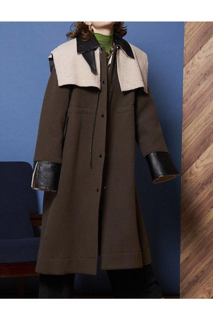 【メゾンスペシャル/MAISON SPECIAL】の2WAYビックカラーコート インテリア・キッズ・メンズ・レディースファッション・服の通販 founy(ファニー) https://founy.com/ ファッション Fashion レディースファッション WOMEN アウター Coat Outerwear コート Coats イタリア エアリー ジャケット チェック トレンド ビッグ ボンディング 無地 リバーシブル ロング  ID: prp329100002054084 ipo3291000000012609023