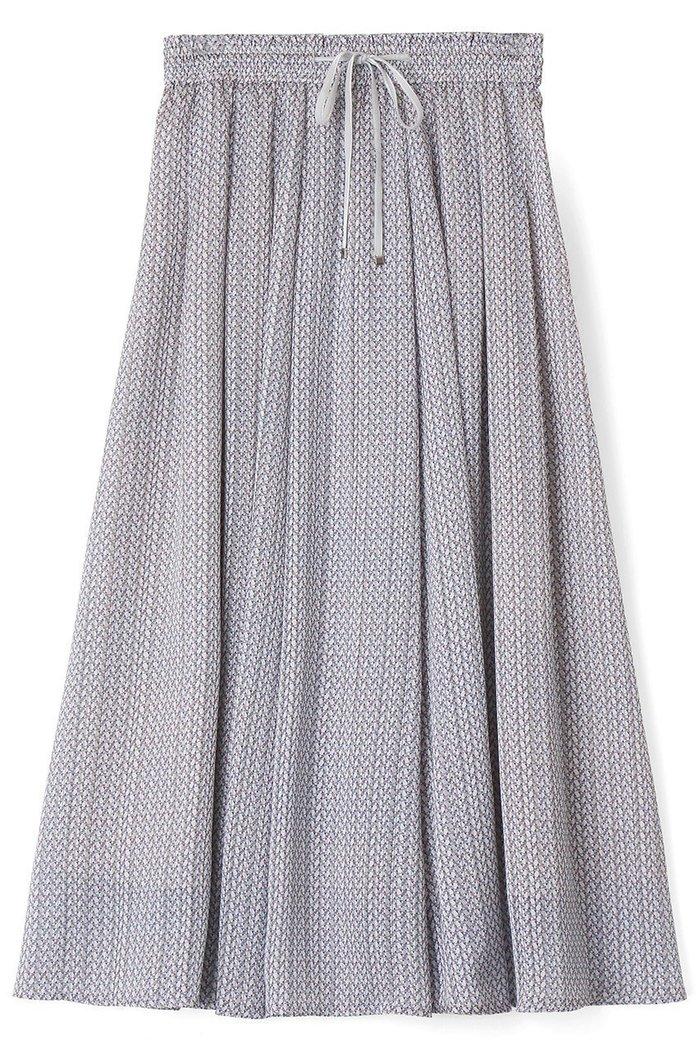 【アナイ/ANAYI】のキカストライププリントタックフレアスカート インテリア・キッズ・メンズ・レディースファッション・服の通販 founy(ファニー) https://founy.com/ ファッション Fashion レディースファッション WOMEN スカート Skirt Aライン/フレアスカート Flared A-Line Skirts ロングスカート Long Skirt おすすめ Recommend クラシカル サテン ジャケット ストライプ フランス プリント ベルベット リボン ロング  ID: prp329100002060948 ipo3291000000012630483