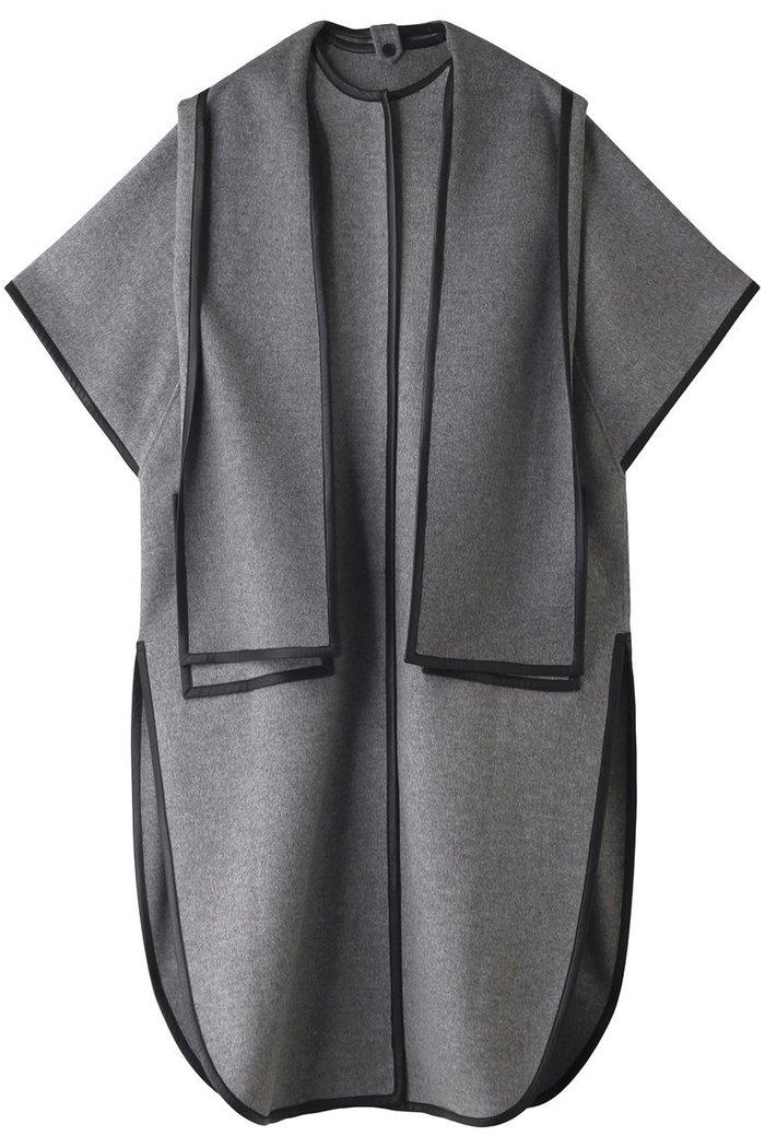 【アドーア/ADORE】のヤクミックスリバーコート インテリア・キッズ・メンズ・レディースファッション・服の通販 founy(ファニー) https://founy.com/ ファッション Fashion レディースファッション WOMEN アウター Coat Outerwear コート Coats スリット パイピング マフラー ミックス ロング  ID: prp329100002063380 ipo3291000000012649275