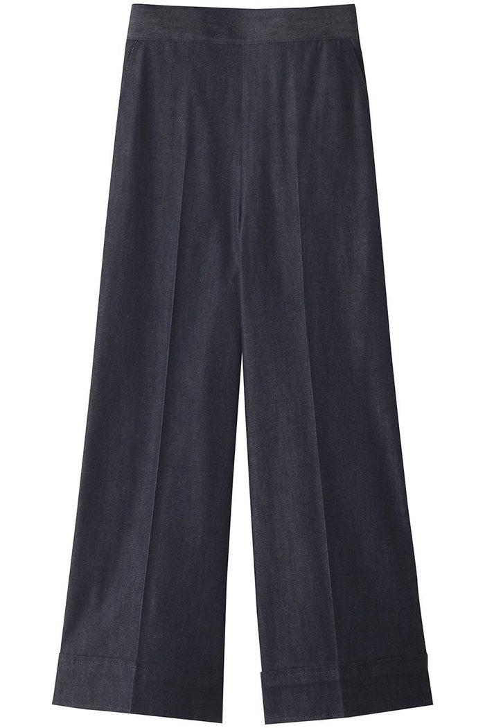 【アナイ/ANAYI】のデニムライクパンツ インテリア・キッズ・メンズ・レディースファッション・服の通販 founy(ファニー) https://founy.com/ ファッション Fashion レディースファッション WOMEN パンツ Pants シンプル センター デニム ワイド |ID: prp329100002074087 ipo3291000000012748319