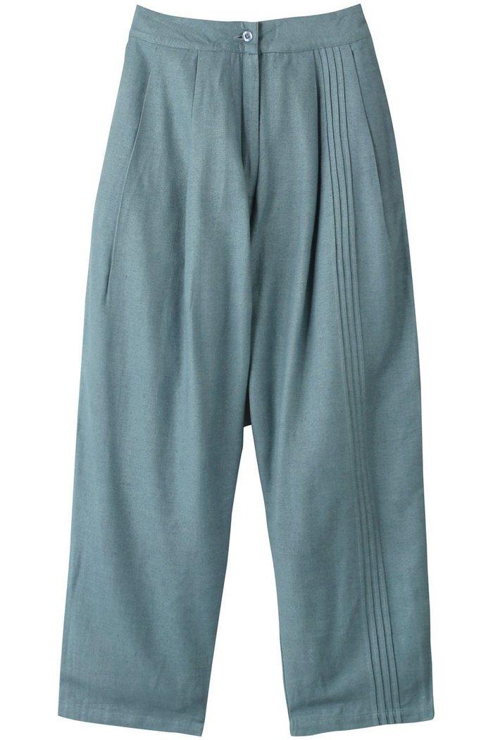 【カオス/Chaos】のSEEALL プリーツパンツ インテリア・キッズ・メンズ・レディースファッション・服の通販 founy(ファニー) https://founy.com/ ファッション Fashion レディースファッション WOMEN パンツ Pants おすすめ Recommend シルク セットアップ ネップ フロント プリーツ ワイド |ID: prp329100002074092 ipo3291000000012768115