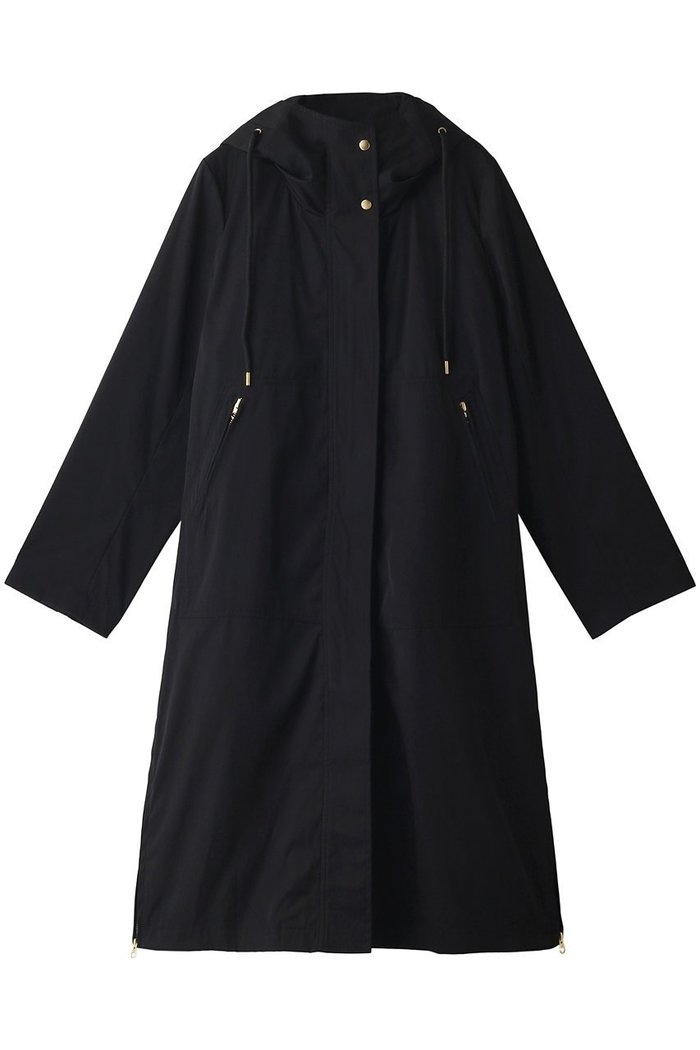 【アルアバイル/allureville】のシャンブレーボアライナーツキコート インテリア・キッズ・メンズ・レディースファッション・服の通販 founy(ファニー) https://founy.com/ ファッション Fashion レディースファッション WOMEN アウター Coat Outerwear コート Coats シャンブレー シンプル スリット ライナー ロング |ID: prp329100002074147 ipo3291000000012748504