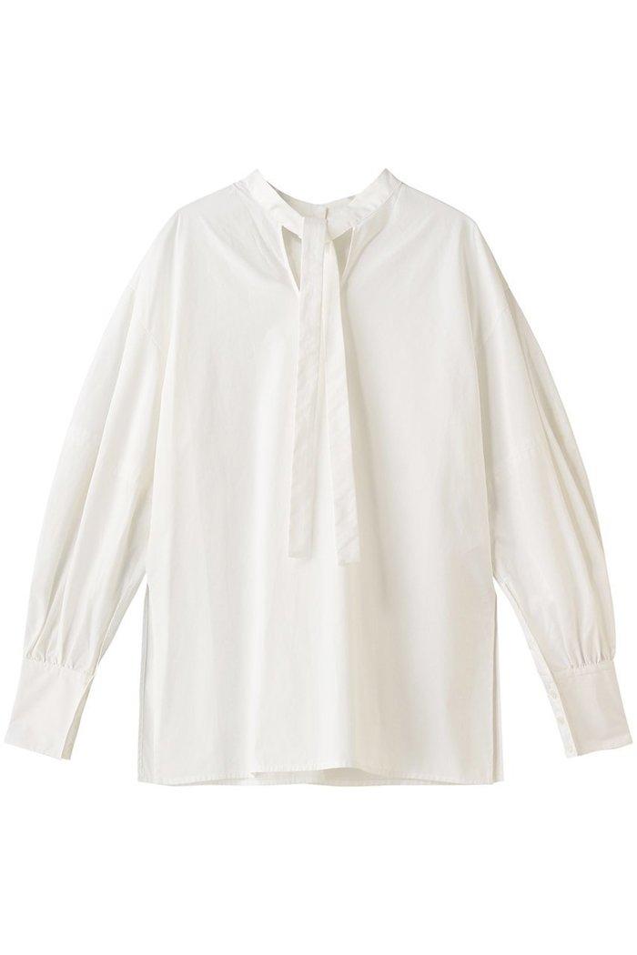 【クラネ/CLANE】のW FACE BOWTIE SHIRT / シャツ/ブラウス インテリア・キッズ・メンズ・レディースファッション・服の通販 founy(ファニー) https://founy.com/ ファッション Fashion レディースファッション WOMEN トップス・カットソー Tops/Tshirt キャミソール / ノースリーブ No Sleeves シャツ/ブラウス Shirts/Blouses ロング / Tシャツ T-Shirts カットソー Cut and Sewn キャミソール スリット タンク ロング |ID: prp329100002074151 ipo3291000000012748514