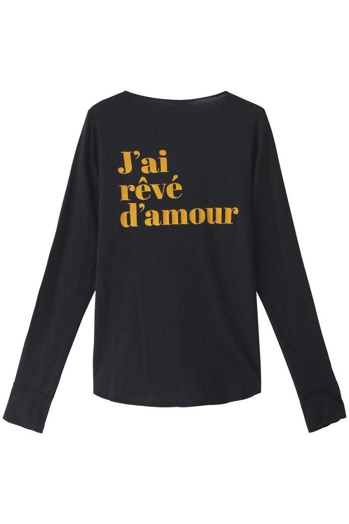 【ザディグ エ ヴォルテール/ZADIG & VOLTAIRE】のTUNISIEN ML J AI REVE D AMOUR カットソー インテリア・キッズ・メンズ・レディースファッション・服の通販 founy(ファニー) https://founy.com/ ファッション Fashion レディースファッション WOMEN トップス・カットソー Tops/Tshirt シャツ/ブラウス Shirts/Blouses ロング / Tシャツ T-Shirts カットソー Cut and Sewn カットソー ショート シンプル スリーブ フロント  ID: prp329100002074188 ipo3291000000012768198