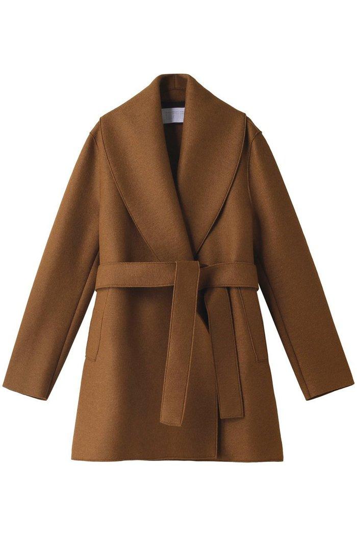 【ガリャルダガランテ/GALLARDAGALANTE】の【HARRIS WHARF LONDON】ショールベルテッドジャケット インテリア・キッズ・メンズ・レディースファッション・服の通販 founy(ファニー) https://founy.com/ ファッション Fashion レディースファッション WOMEN アウター Coat Outerwear ジャケット Jackets おすすめ Recommend なめらか ショール ジャケット  ID: prp329100002074293 ipo3291000000012748919