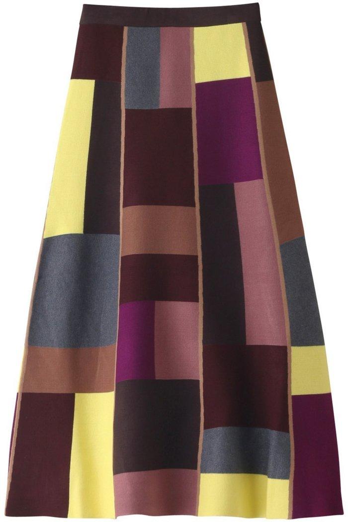 【ヴィヴィビー/VVB】のカラーブロックミディスカート インテリア・キッズ・メンズ・レディースファッション・服の通販 founy(ファニー) https://founy.com/ ファッション Fashion レディースファッション WOMEN スカート Skirt ロングスカート Long Skirt おすすめ Recommend カラフル フィット ブロック ロング |ID: prp329100002074320 ipo3291000000012768343