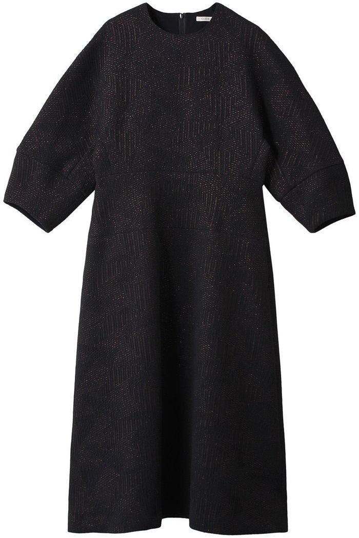 【ハウス オブ ロータス/HOUSE OF LOTUS】のラメジャカード コクーンワンピース インテリア・キッズ・メンズ・レディースファッション・服の通販 founy(ファニー) https://founy.com/ ファッション Fashion レディースファッション WOMEN ワンピース Dress チュニック Tunic キルティング シェイプ ジャカード チュニック パーティ フランス ロング  ID: prp329100002076118 ipo3291000000012767821