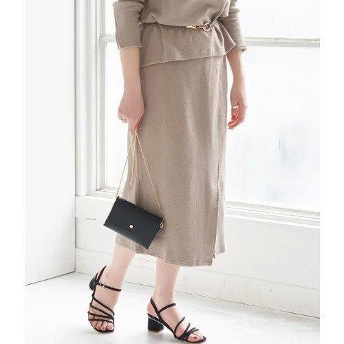 【ロペピクニック/ROPE' PICNIC】の【セットアップ対応】アシメカットスカート インテリア・キッズ・メンズ・レディースファッション・服の通販 founy(ファニー)  ファッション Fashion レディースファッション WOMEN セットアップ Setup スカート Skirt アシンメトリー エレガント シンプル スリット セットアップ バイアス フロント ラップ リラックス ブラウン ID: prp329100000277592 ipo3291000000000830620