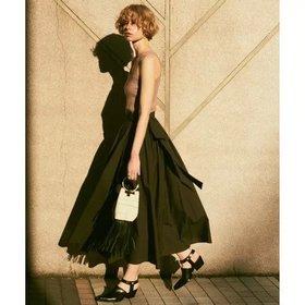 【ガリャルダガランテ/GALLARDAGALANTE】のギャザーラップロングスカート 人気、トレンドファッション・服の通販 founy(ファニー) ファッション Fashion レディースファッション WOMEN スカート Skirt ロングスカート Long Skirt ギャザー タイプライター マキシ ロング |ID:prp329100000494371