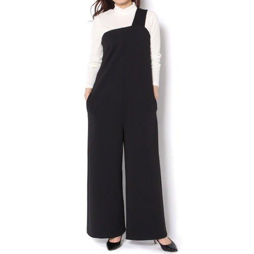 【ガリャルダガランテ/GALLARDAGALANTE】の【J.C.M】ワンショルダーワンピース インテリア・キッズ・メンズ・レディースファッション・服の通販 founy(ファニー) ファッション Fashion レディースファッション WOMEN ワンピース Dress ドレス Party Dresses ニットワンピース Knit Dresses シャツワンピース Shirt Dresses コンパクト サロペット スウェット ドレス フォーマル リラックス ワイド ブラック ID: prp329100000497911 ipo3291000000001534391
