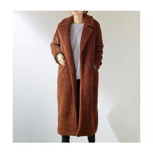 【ガリャルダガランテ/GALLARDAGALANTE】の【The Loom】ボアコート インテリア・キッズ・メンズ・レディースファッション・服の通販 founy(ファニー)  ファッション Fashion レディースファッション WOMEN アウター Coat Outerwear コート Coats おすすめ Recommend ロング ブラウン|ID: prp329100000499316 ipo3291000000001539638