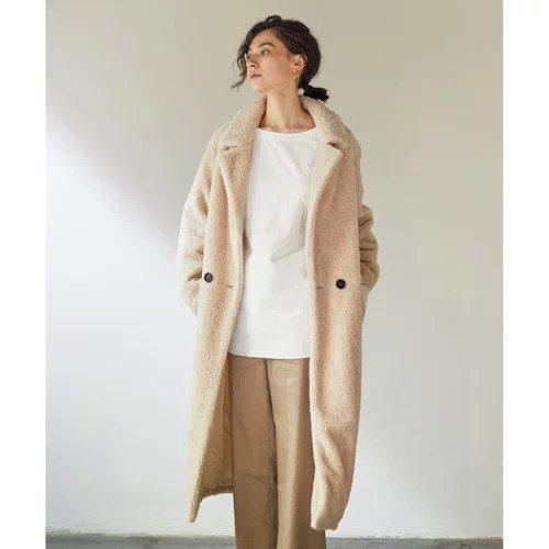 【ガリャルダガランテ/GALLARDAGALANTE】の【The Loom】ボアコート インテリア・キッズ・メンズ・レディースファッション・服の通販 founy(ファニー)  ファッション Fashion レディースファッション WOMEN アウター Coat Outerwear コート Coats おすすめ Recommend ロング アイボリー|ID: prp329100000499316 ipo3291000000001539639