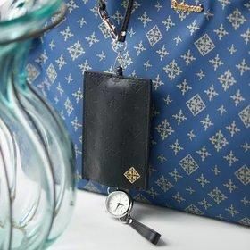 【デイリー ラシット/Daily russet / GOODS】の時計付きパスケース レディースファッション・服の通販 founy(ファニー) スマート ラップ ワンポイント 時計 財布 |ID:prp329100000501073