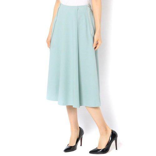 【ガリャルダガランテ/GALLARDAGALANTE】のフラノフレアスカート インテリア・キッズ・メンズ・レディースファッション・服の通販 founy(ファニー)  ファッション Fashion レディースファッション WOMEN スカート Skirt Aライン/フレアスカート Flared A-Line Skirts ドレープ フレア ヘムライン ミント|ID: prp329100000502131 ipo3291000000001550670