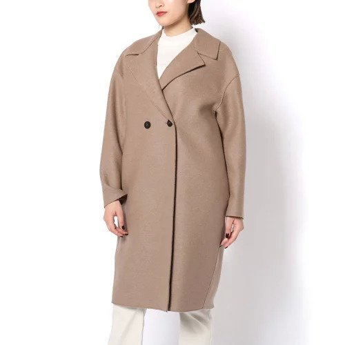 【ガリャルダガランテ/GALLARDAGALANTE】の【HARRIS WHARF LONDON】ロングコート インテリア・キッズ・メンズ・レディースファッション・服の通販 founy(ファニー)  ファッション Fashion レディースファッション WOMEN アウター Coat Outerwear コート Coats イタリア コレクション ジャケット 定番 Standard 人気 バランス メンズ ロング ロンドン ワイド A/W・秋冬 AW・Autumn/Winter・FW・Fall-Winter キャメル|ID: prp329100000510282 ipo3291000000001579888