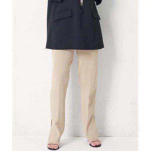 【ガリャルダガランテ/GALLARDAGALANTE】の【CEPIE.】ミラノリブベンツニットパンツ インテリア・キッズ・メンズ・レディースファッション・服の通販 founy(ファニー)  ファッション Fashion レディースファッション WOMEN パンツ Pants インナー カットソー シンプル ストレート スリット センター トレンド フィット ミラノリブ アイボリー|ID: prp329100000511368 ipo3291000000001583508