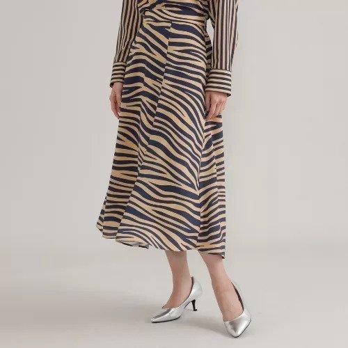 【エヴェックス バイ クリツィア/EVEX by KRIZIA】の【ウォッシャブル】ゼブラフレアスカート インテリア・キッズ・メンズ・レディースファッション・服の通販 founy(ファニー) https://founy.com/ ファッション Fashion レディースファッション WOMEN スカート Skirt Aライン/フレアスカート Flared A-Line Skirts S/S・春夏 SS・Spring/Summer アシンメトリー ウォッシャブル エレガント セットアップ フレア プリント マキシ ロング 春 Spring  ID: prp329100001461790 ipo3291000000007054077