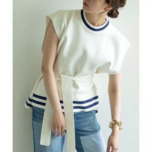 【ガリャルダガランテ/GALLARDAGALANTE】の【BAUM UND PFERDGARTEN】ニットベスト インテリア・キッズ・メンズ・レディースファッション・服の通販 founy(ファニー) https://founy.com/ ファッション Fashion レディースファッション WOMEN アウター Coat Outerwear トップス・カットソー Tops/Tshirt ニット Knit Tops ベスト/ジレ Gilets/Vests カットソー ガーデン セーター フィット ベスト ポンチョ リボン ロング 楽ちん |ID: prp329100001874269 ipo3291000000010805672