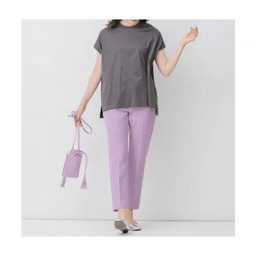 【自由区/JIYU-KU】の【Sサイズ有】吸水撥油 TRギャバ テーパードパンツ インテリア・キッズ・メンズ・レディースファッション・服の通販 founy(ファニー) https://founy.com/ ファッション Fashion レディースファッション WOMEN パンツ Pants イエロー 秋 Autumn/Fall 吸水 センター 定番 Standard フィット ワイド おすすめ Recommend  ID: prp329100001887481 ipo3291000000010946407