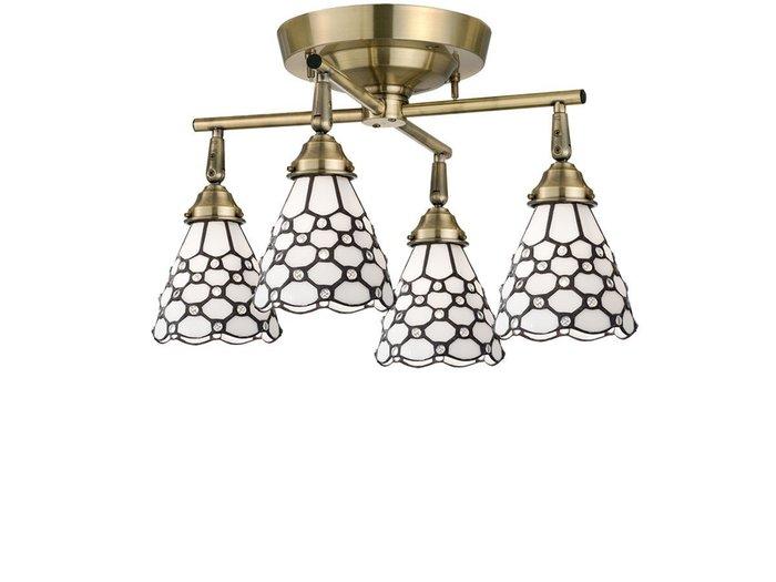 【フライミー ファクトリー/FLYMEe Factory / GOODS】のCUSTOM SERIES 4 Cross Ceiling Lamp × Stained Glass Dots / カスタムシリーズ 4灯クロスシーリングランプ × ステンドグラス(ドッツ) インテリア・キッズ・メンズ・レディースファッション・服の通販 founy(ファニー) https://founy.com/ 送料無料 Free Shipping ドット ハンド ホーム・キャンプ・アウトドア Home,Garden,Outdoor,Camping Gear 家具・インテリア Furniture ライト・照明 Lighting & Light Fixtures シーリングライト  ID: prp329100000005088 ipo3291000000007916336