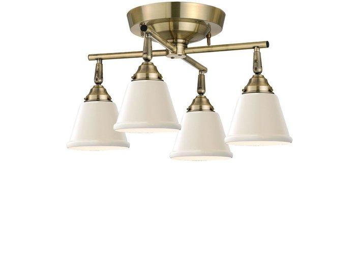 【フライミー ファクトリー/FLYMEe Factory / GOODS】のCUSTOM SERIES 4 Cross Ceiling Lamp × Mini Trap Enamel / カスタムシリーズ 4灯クロスシーリングランプ × ミニエナメル(トラップ) インテリア・キッズ・メンズ・レディースファッション・服の通販 founy(ファニー) https://founy.com/ 送料無料 Free Shipping エナメル ガラス シンプル 台形 ホーム・キャンプ・アウトドア Home,Garden,Outdoor,Camping Gear 家具・インテリア Furniture ライト・照明 Lighting & Light Fixtures シーリングライト  ID: prp329100000007027 ipo3291000000007914549