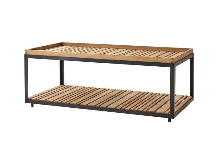 【ケインライン/Cane-line / GOODS】のLevel Coffee Table Rectangular Teak / レベル コーヒーテーブル レクタングラー チーク インテリア・キッズ・メンズ・レディースファッション・服の通販 founy(ファニー) https://founy.com/ オイル ガーデン シルバー シンプル テーブル 送料無料 Free Shipping |ID: prp329100001236703 ipo3291000000007885553