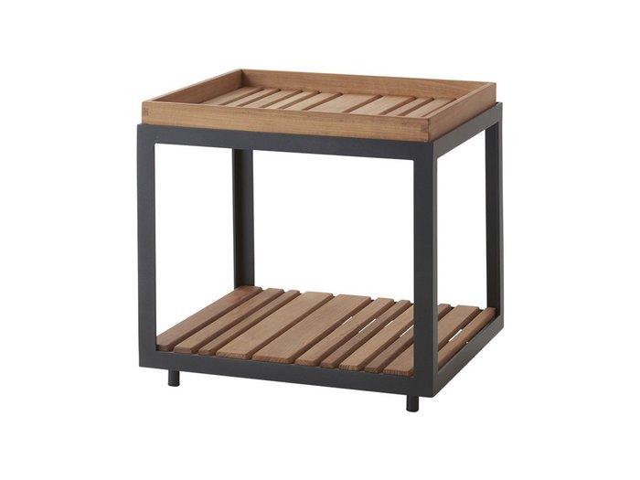 【ケインライン/Cane-line / GOODS】のLevel Side Table Teak / レベル サイドテーブル チーク インテリア・キッズ・メンズ・レディースファッション・服の通販 founy(ファニー) https://founy.com/ オイル ガーデン シルバー シンプル テーブル 送料無料 Free Shipping |ID: prp329100001236707 ipo3291000000007885570