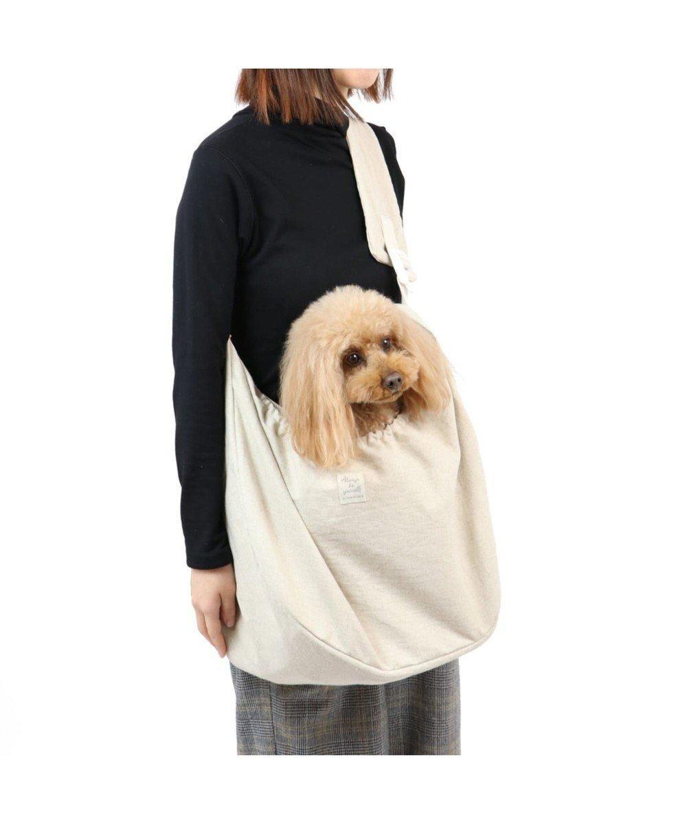 【ペットパラダイス/PET PARADISE / GOODS】のペットパラダイス ミモザ スリング 〔小型犬〕 インテリア・キッズ・メンズ・レディースファッション・服の通販 founy(ファニー)  送料無料 Free Shipping ポケット メッシュ 巾着 犬 Dog ホーム・キャンプ・アウトドア Home,Garden,Outdoor,Camping Gear ペットグッズ Pet Supplies ベージュ (71) ID: prp329100001249371 ipo3291000000010102782