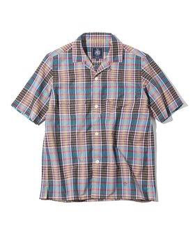 【ジェイ プレス/J.PRESS / MEN】の【J.PRESS ORIGINALS】T/C OPEN COLLAR SHIRT PLAID 人気、トレンドファッション・服の通販 founy(ファニー) ファッション Fashion メンズファッション MEN トップス・カットソー Tops/Tshirt/Men シャツ Shirts 送料無料 Free Shipping シャンブレー ショーツ ジャケット スリット チェック フラップ フロント ボックス ポケット |ID:prp329100001634801