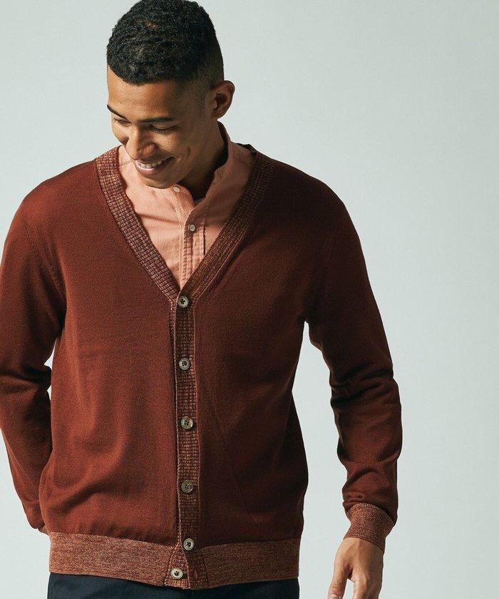 【ジェイ プレス/J.PRESS / MEN】の【Australian Merino Wool】Vネックカーディガン インテリア・キッズ・メンズ・レディースファッション・服の通販 founy(ファニー) https://founy.com/ ファッション Fashion メンズファッション MEN トップス・カットソー Tops/Tshirt/Men カーディガン Cardigans 送料無料 Free Shipping イタリア カシミヤ カーディガン シルク ベーシック |ID: prp329100001995364 ipo3291000000011998519