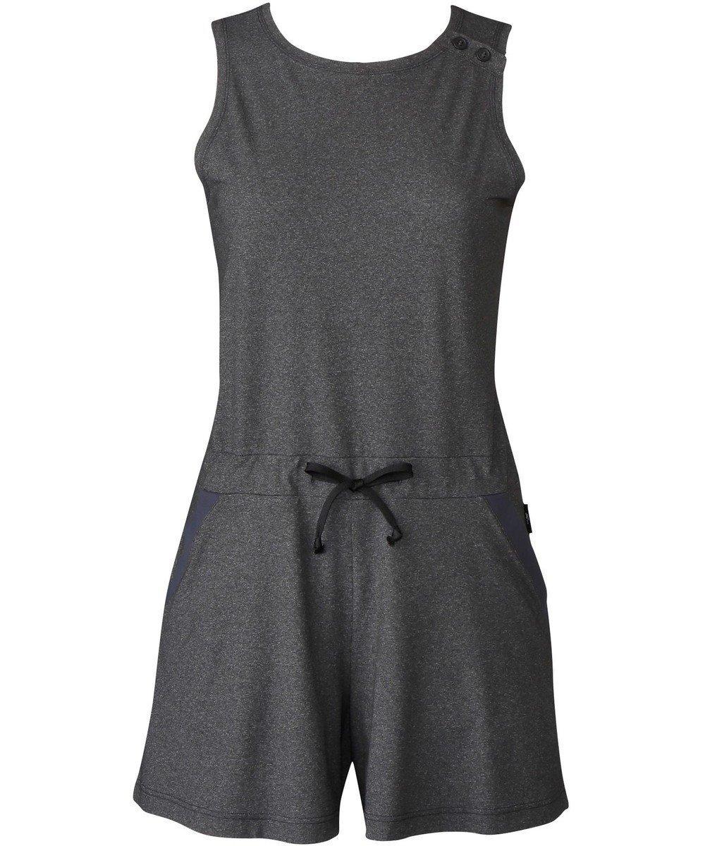 【シーダブリューエックス/CW-X】の【WOMEN】アウター オールインワン ノースリーブ /ワコール DFY591 人気、トレンドファッション・服の通販 founy(ファニー)  ファッション Fashion レディースファッション WOMEN アウター Coat Outerwear トップス・カットソー Tops/Tshirt キャミソール / ノースリーブ No Sleeves ワンピース Dress オールインワン ワンピース All In One Dress 送料無料 Free Shipping ストレッチ スリット トレンド ノースリーブ ポケット  other-1 ID: prp329100001996723 ipo3291000000012080569