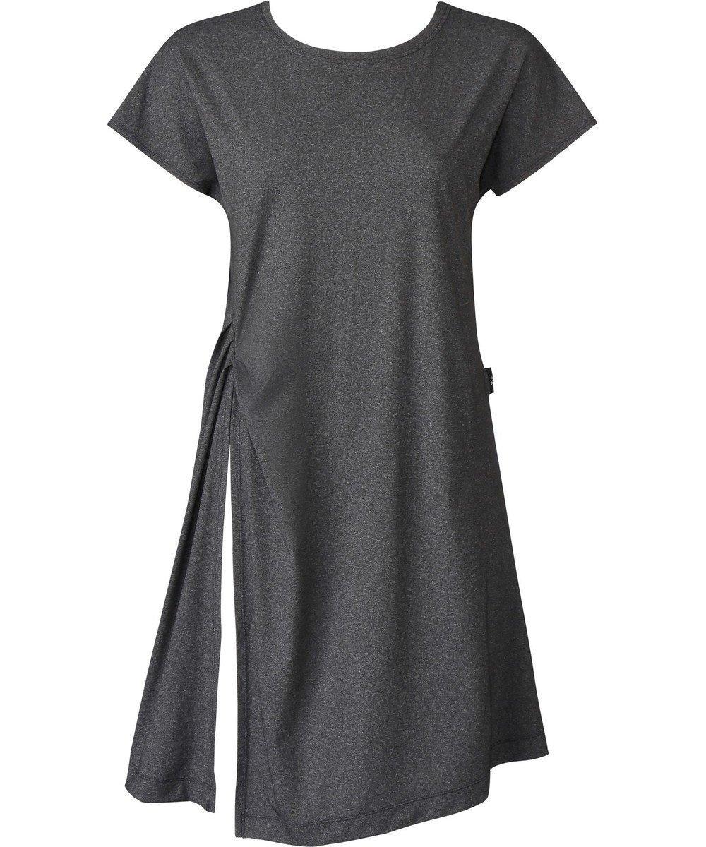 【シーダブリューエックス/CW-X】の【WOMEN】アウター ワンピース 半袖 /ワコール DFY581 インテリア・キッズ・メンズ・レディースファッション・服の通販 founy(ファニー)  ファッション Fashion レディースファッション WOMEN アウター Coat Outerwear 送料無料 Free Shipping おすすめ Recommend ストレッチ スリット タイツ 半袖 グレー (GY) ID: prp329100001996724 ipo3291000000012080576
