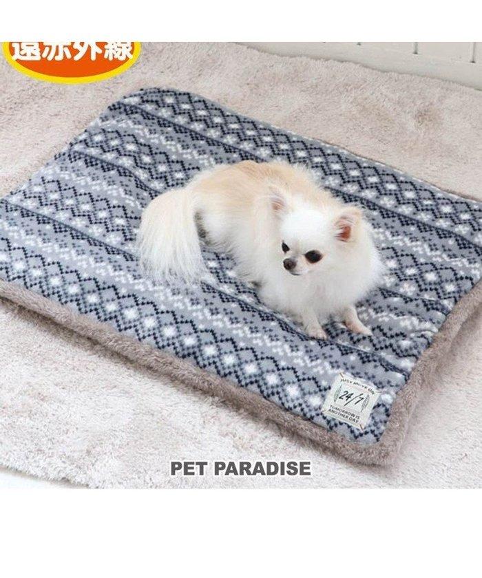 【ペットパラダイス/PET PARADISE / GOODS】の犬 マット 遠赤外線 ボアマット グレー (80×60cm) 犬 猫 ベッド 小型犬 おしゃれ かわいい インテリア・キッズ・メンズ・レディースファッション・服の通販 founy(ファニー) https://founy.com/ 犬 Dog 猫 ホーム・キャンプ・アウトドア Home,Garden,Outdoor,Camping Gear ペットグッズ Pet Supplies |ID: prp329100001996787 ipo3291000000012026374