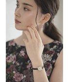 【トッカ/TOCCA】のNOBLE WATCH 腕時計 ローマ数字×ブラック (005)|ID: prp329100001999327 ipo3291000000012050862