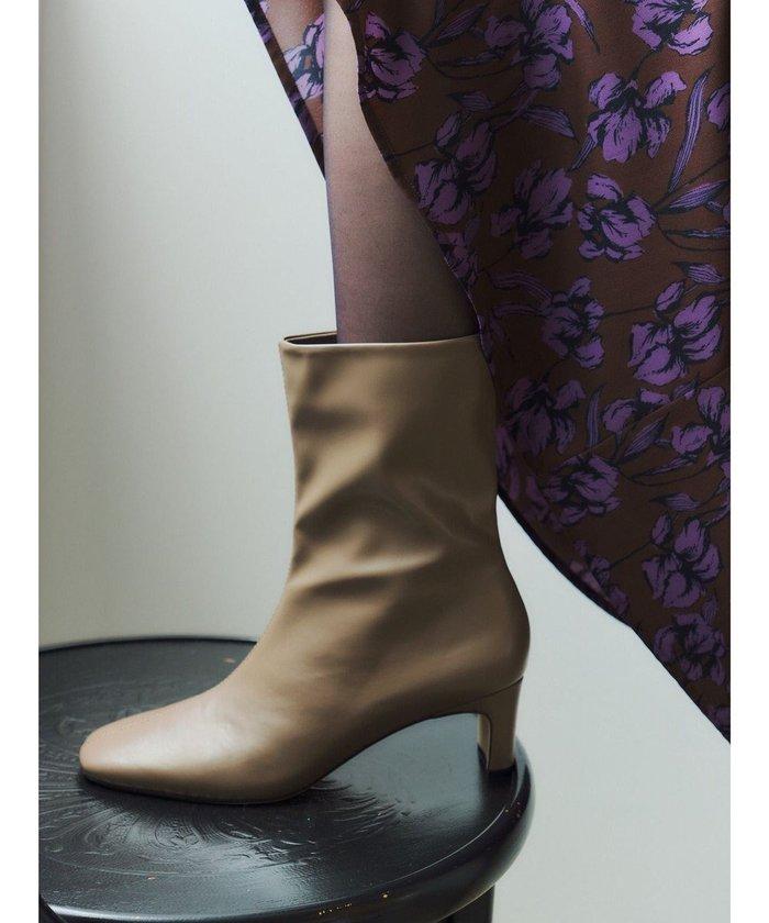【イェッカ ヴェッカ/YECCA VECCA】のミドル丈ブーツ インテリア・キッズ・メンズ・レディースファッション・服の通販 founy(ファニー) https://founy.com/ ファッション Fashion レディースファッション WOMEN 送料無料 Free Shipping エレガント シューズ ジップ ミドル |ID: prp329100001999606 ipo3291000000012051714