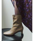 【イェッカ ヴェッカ/YECCA VECCA】のミドル丈ブーツ Mocha (129)|ID: prp329100001999606 ipo3291000000012051719