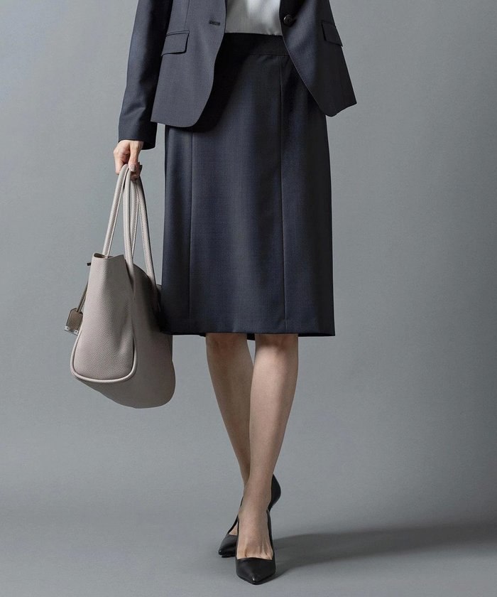【ジェイ プレス/J.PRESS】の【スーツ】BAHARIYE スカート インテリア・キッズ・メンズ・レディースファッション・服の通販 founy(ファニー) https://founy.com/ ファッション Fashion レディースファッション WOMEN スカート Skirt スーツ Suits スーツ スカート Skirt ジャケット ストレッチ スーツ セットアップ チェック 無地 送料無料 Free Shipping おすすめ Recommend |ID: prp329100002052187 ipo3291000000012650630