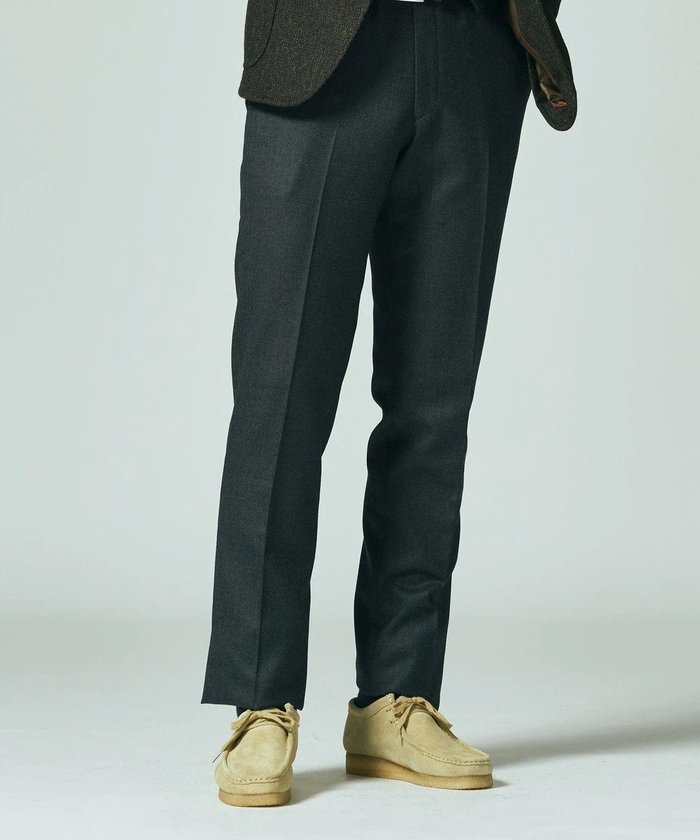 【ジェイ プレス/J.PRESS / MEN】のストレッチウーステッド キャバルリーツイル スラックス インテリア・キッズ・メンズ・レディースファッション・服の通販 founy(ファニー) https://founy.com/ ファッション Fashion メンズファッション MEN ボトムス Bottoms/Men 送料無料 Free Shipping ストレッチ スポーティ スラックス ミリタリー リラックス  ID: prp329100002052370 ipo3291000000012611592